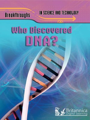 cover image of Who Discovered DNA?