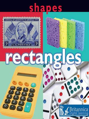 cover image of Shapes: Rectangles
