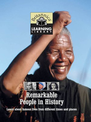 cover image of Remarkable People in History