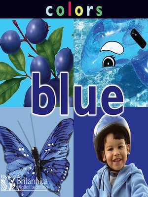 cover image of Colors: Blue