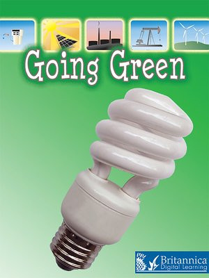 cover image of Going Green