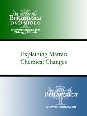 cover image of Explaining Matter