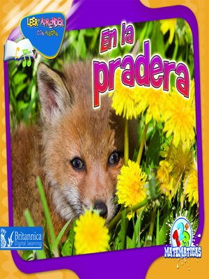 cover image of En la pradera (Over in the Meadow)