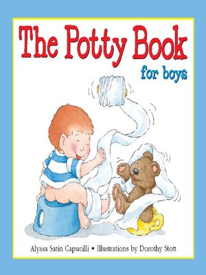cover image of The Potty Book for Boys