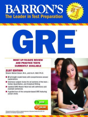 Barrons educational series incpublisher overdrive rakuten cover image of gre fandeluxe Choice Image