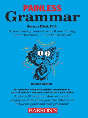 Barrons educational series incpublisher overdrive rakuten cover image of painless grammar fandeluxe Choice Image