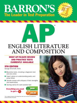 cover image of AP English Literature and Composition