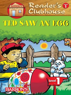 cover image of Ted Saw An Egg