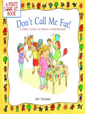 cover image of Don't Call Me Fat!