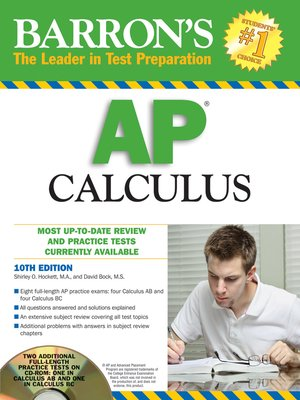 cover image of AP Calculus