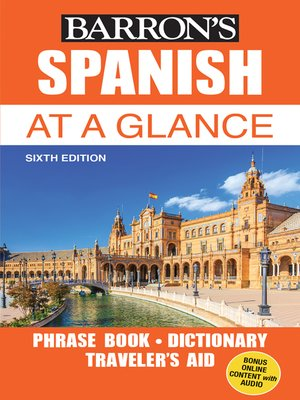cover image of Spanish at a Glance