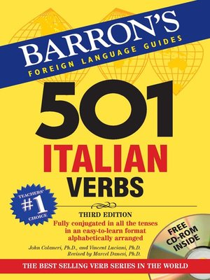 Barrons educational series incpublisher overdrive rakuten 501 italian verbs fandeluxe Choice Image
