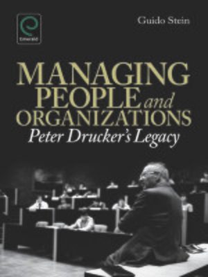 cover image of Managing People and Organizations