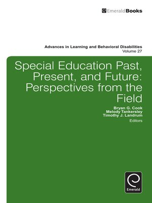 cover image of Advances in Learning and Behavioral Disabilities, Volume 27