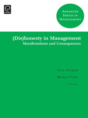 cover image of Advanced Series in Management, Volume 10