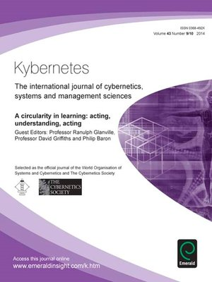 cover image of Kybernetes, Volume 43, Issue 9 & 10