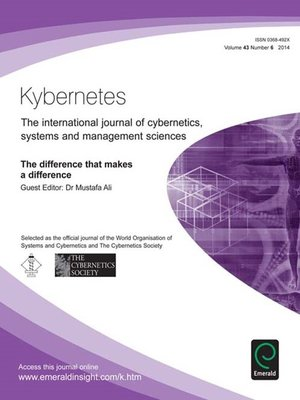 cover image of Kybernetes, Volume 43, Issue 6