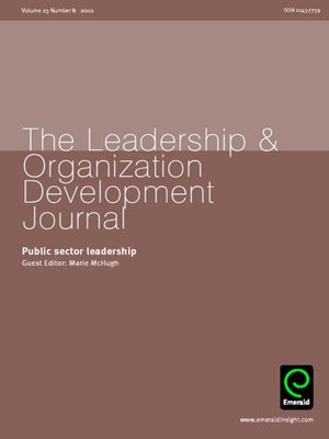 cover image of Leadership & Organizational Development Journal, Volume 23, Issue 8