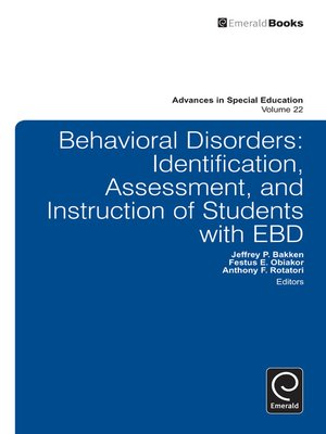 cover image of Advances in Special Education, Volume 22