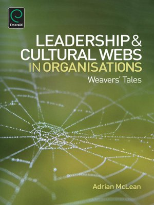 cover image of Leaderhip and Cultural Webs in Organisations