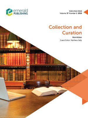 cover image of Collection and Curation, Volume 37, Number 2