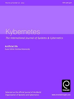 cover image of Kybernetes, Volume 32, Issue 1 & 2