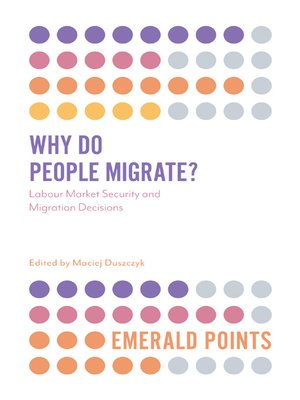 cover image of Why Do People Migrate?