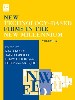 cover image of New Technology-Based Firms in the New Millennium, Volume 10