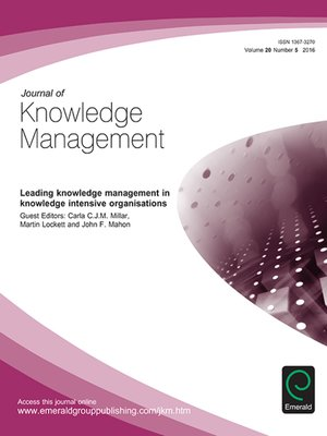 Knowledge Management Ebook S