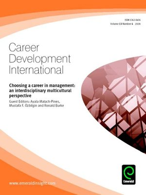 cover image of Career Development International, Volume 13, Issue 4