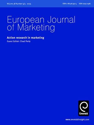 journal of marketing research Journal of marketing research is a bimonthly peer-reviewed academic journal published by the american marketing association it was established in 1964 and covers all aspects of marketing research[1][2][3] according to the journal citation reports, the journal has a 2017 impact factor of.