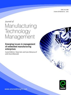 cover image of Journal of Manufacturing Technology Management, Volume 19, Issue 4