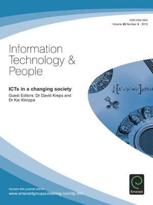 information technology and people As we are aware of information technology had its modern sagarmay deb, information technology, its impact on society for information people who would like.