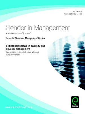the conflicts of gender diversity within Gender diversity in the workplace is in the as leaders stands at the heart of any attempt at effective gender diversity conflicts virginija.