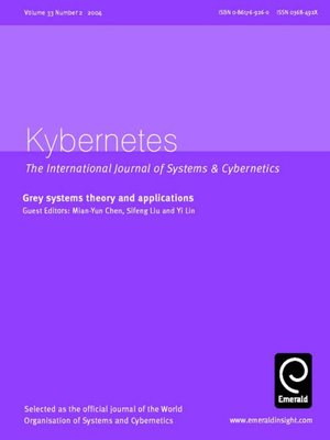 cover image of Kybernetes, Volume 33, Issue 2
