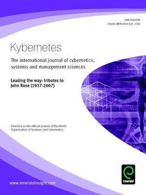 cover image of Kybernetes, Volume 38, Issue 1 & 2
