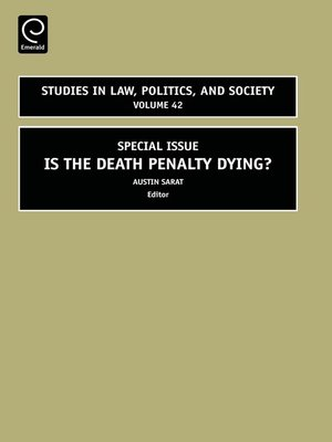 cover image of Studies in Law, Politics, and Society, Volume 42