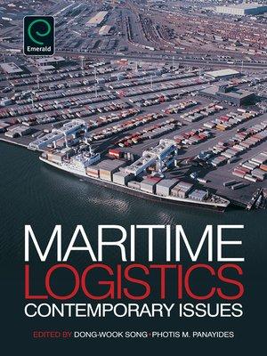 cover image of Maritime Logistics