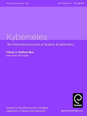 cover image of Kybernetes, Volume 33, Issue 3 & 4