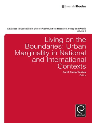 cover image of Advances in Education in Diverse Communities: Research, Policy and Praxis, Volume 8