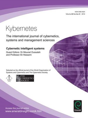 cover image of Kybernetes, Volume 43, Issue 8
