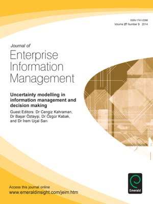 information management journal Information & management serves researchers in the information systems field and managers, professionals, administrators and senior executives of.