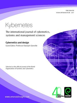cover image of Kybernetes, Volume 36, Issue 9 & 10