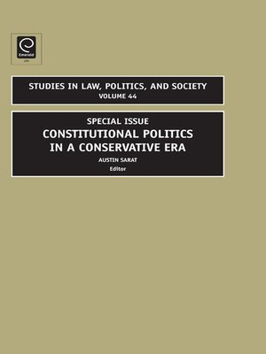 cover image of Studies in Law, Politics, and Society, Volume 44