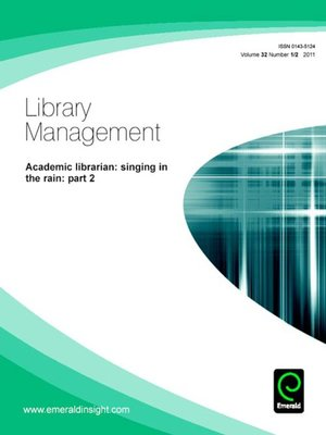 cover image of Library Management, Volume 32, Issue 1 & 2