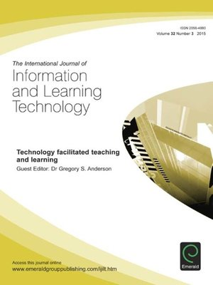 cover image of The International Journal of Information and Learning Technology, Volume 32, Issue 3