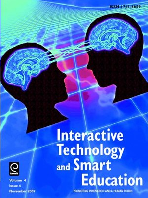 cover image of Interactive Technology and Smart Education, Volume 4, Issue 4
