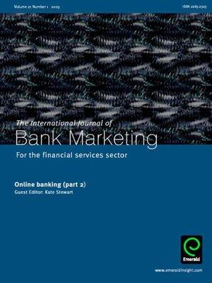 International Journal Of Bank Marketing Volume 21 Issue border=