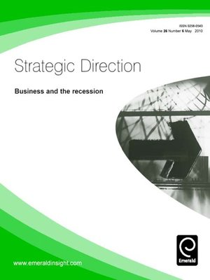 cover image of Strategic Direction, Volume 26, Issue 6