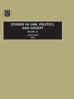 cover image of Studies in Law, Politics, and Society, Volume 45